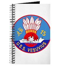 AE-15 USS Vesuvius Ammunition Ship Militar Journal