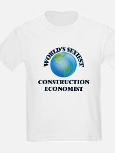 World's Sexiest Construction Economist T-Shirt