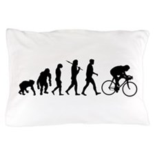 Cycling Evolution Pillow Case