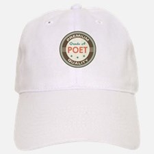 Poet Vintage Baseball Baseball Cap
