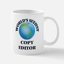 World's Sexiest Copy Editor Mugs