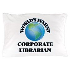 World's Sexiest Corporate Librarian Pillow Case