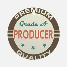 Producer Vintage Ornament (Round)