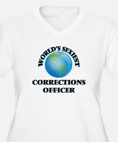 World's Sexiest Corrections Offi Plus Size T-Shirt