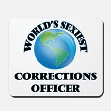 World's Sexiest Corrections Officer Mousepad