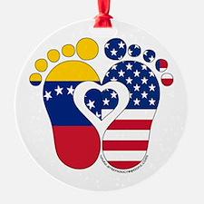 Venezuelan American Baby Ornament