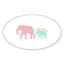 Love Mommy Decal