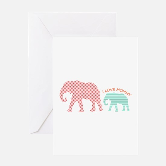 Love Mommy Greeting Cards