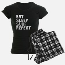 Eat Sleep Surf Repeat Pajamas