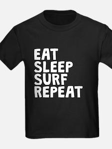 Eat Sleep Surf Repeat T-Shirt