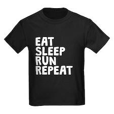 Eat Sleep Run Repeat T-Shirt