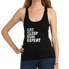 Eat Sleep Run Repeat Racerback Tank Top