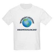 World's Sexiest Deontologist T-Shirt