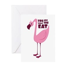 You Are What You Eat Greeting Cards