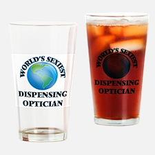 World's Sexiest Dispensing Optician Drinking Glass