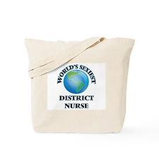 World's Sexiest District Nurse Tote Bag
