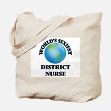 World's Sexiest District Nurse Tote Bag