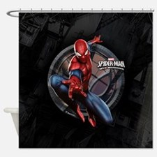 Web Warriors Spider-Man Shower Curtain