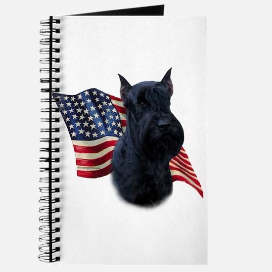 Giant Schnauzer Flag Journal