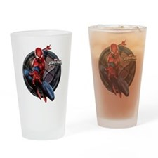 Web Warriors Spider-Man Drinking Glass