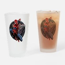 Web Warriors Spider-Man Drinking Glass