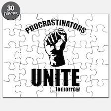 Procrastinators Unite ... Tomorrow Puzzle