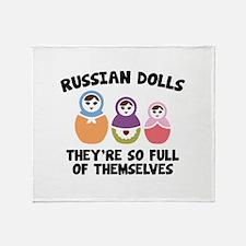 Russian Dolls Stadium Blanket
