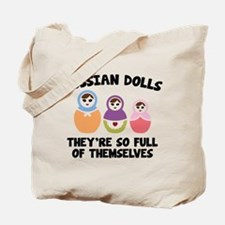 Russian Dolls Tote Bag