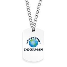 World's Sexiest Doorman Dog Tags
