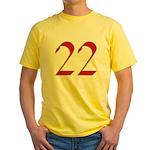 Mink 22 Yellow T-Shirt