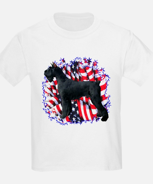 Giant Schnauzer Patriot T-Shirt