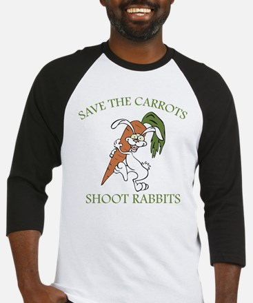 Save The Carrots Shoot Rabbits Baseball Jersey
