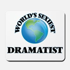 World's Sexiest Dramatist Mousepad