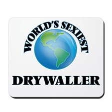 World's Sexiest Drywaller Mousepad