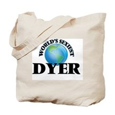 World's Sexiest Dyer Tote Bag