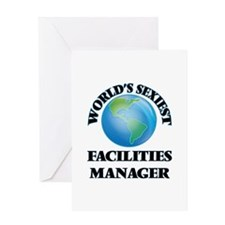 World's Sexiest Facilities Manager Greeting Cards