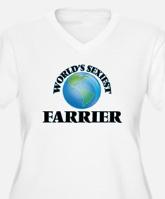 World's Sexiest Farrier Plus Size T-Shirt