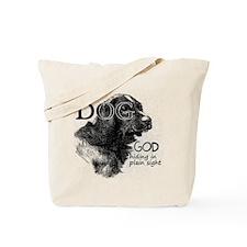 Vintage Dog God Tote Bag
