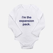 Expansion Pack Blue Long Sleeve Infant Bodysuit