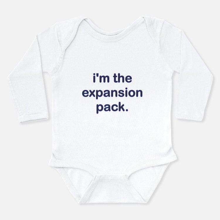 Expansion Pack Blue Long Sleeve Infant Bodysuit