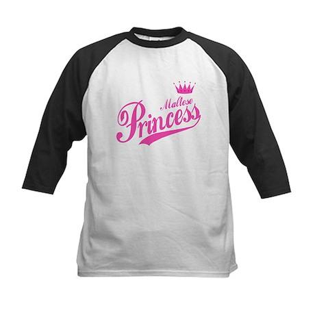 Princess Maltese Kids Baseball Jersey