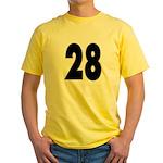 Hunk 28 Yellow T-Shirt