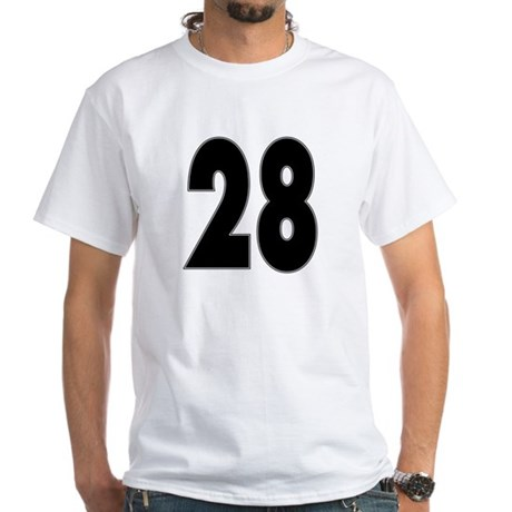 Hunk 28 White T-Shirt