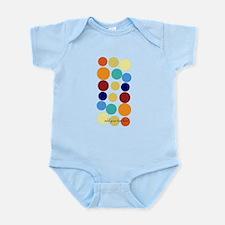 Bright Polka Dots Infant Bodysuit