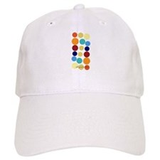 Custom Bright Party Dots Baseball Cap