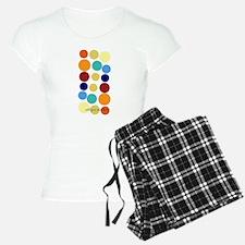 Bright Polka Dots Pajamas