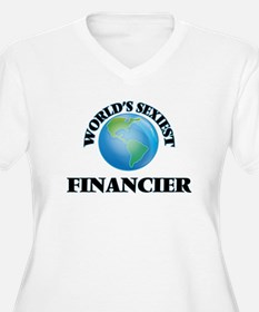 World's Sexiest Financier Plus Size T-Shirt