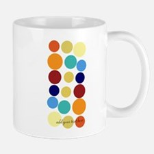 Bright Polka Dots Mug