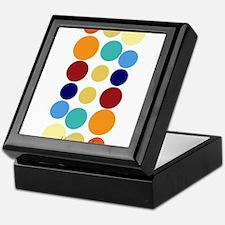 Bright Polka Dots Keepsake Box