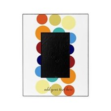 Bright Polka Dots Picture Frame